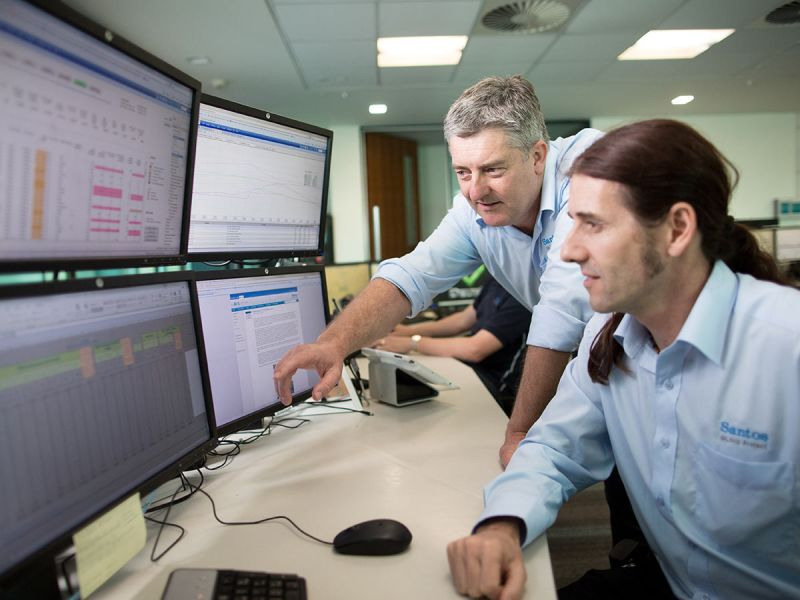 Santos Operational Technology Transformation Program operations centre