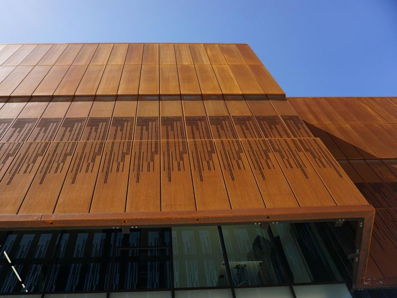 South Australia Drill Core Reference Library Facade