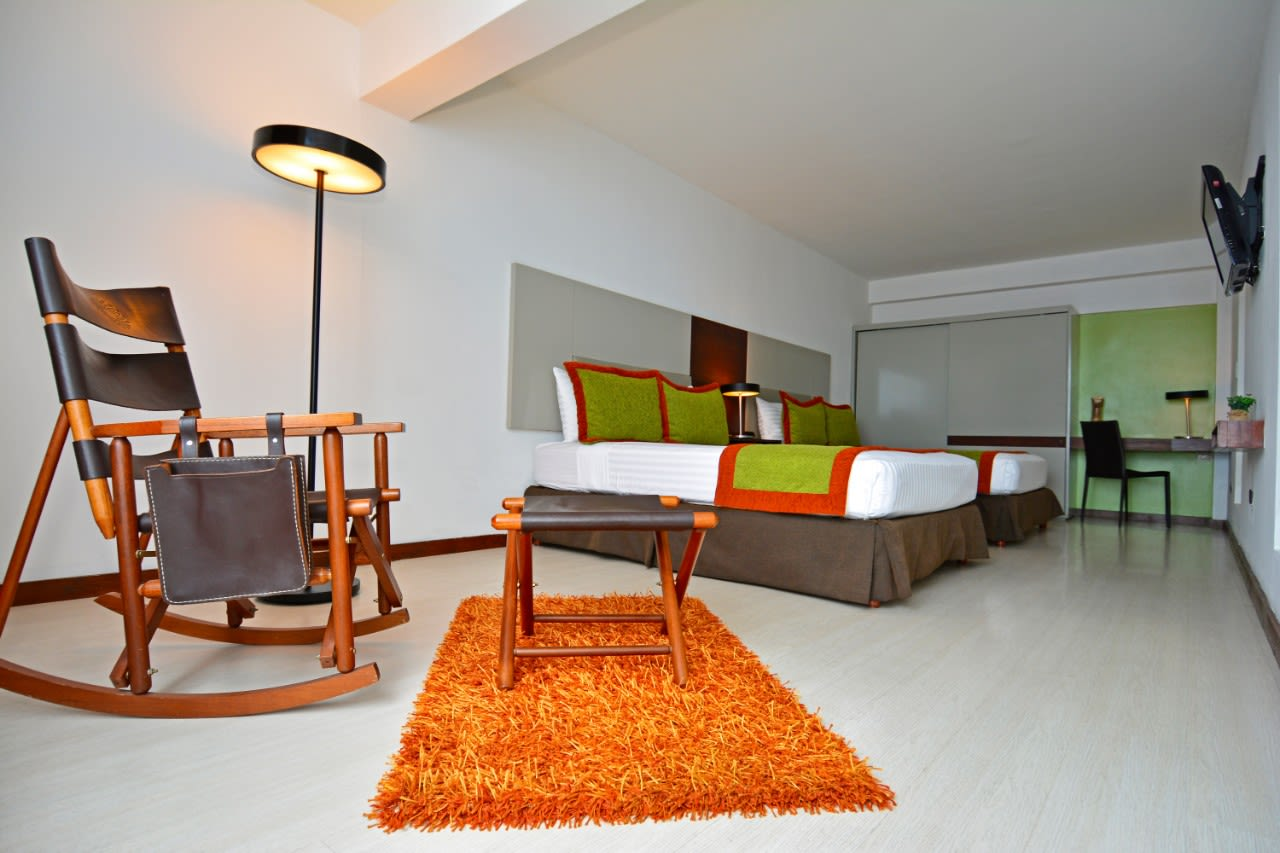 Junior suite hotel autentico costa rica