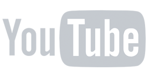 grey youtube logo