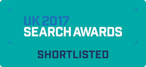 UK 2017 Search Awards Shorlist