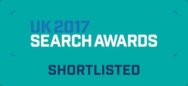 UK 2017 Search Awards Shortlist