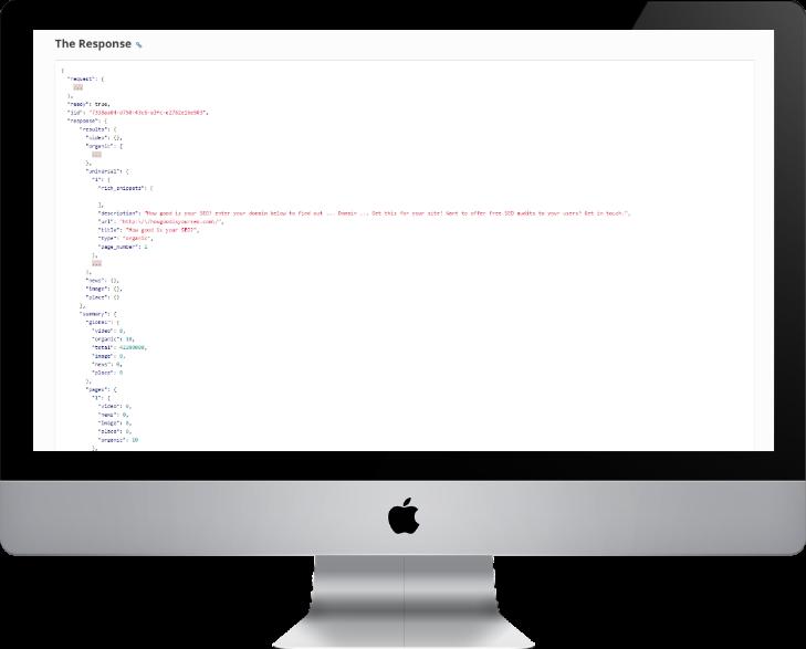 API responses image
