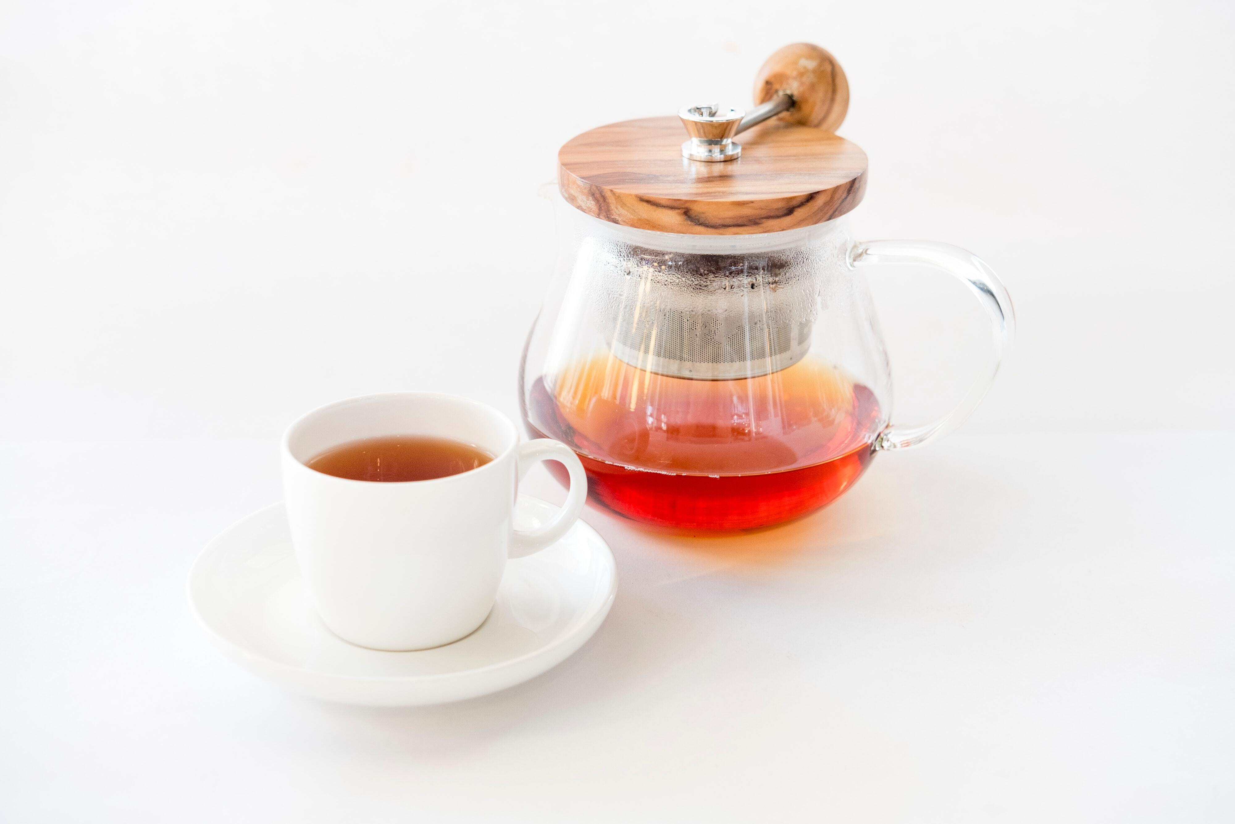 Tea and honey for Tea Time SEO, best analytics reports