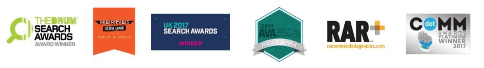Awards badges