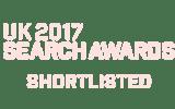UK Search Awards Winner Logo