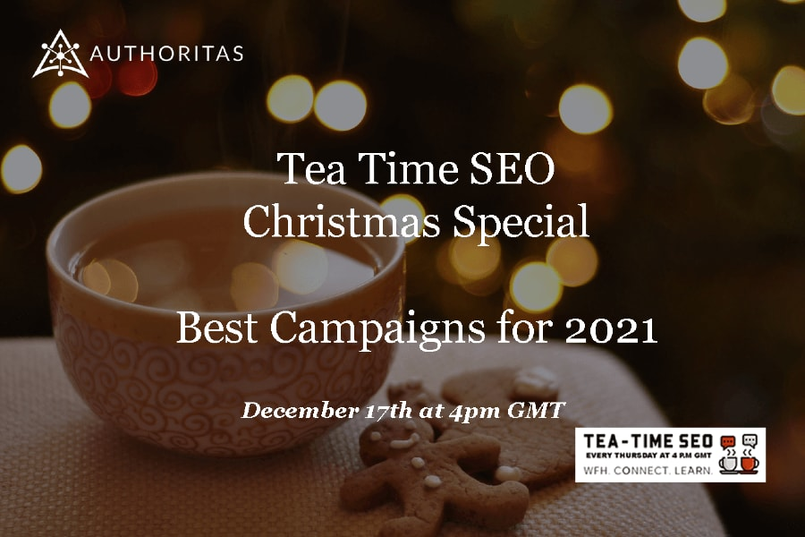 Tea Time Christmas Jumper Special
