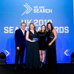 UK Search Awards Winner 2019