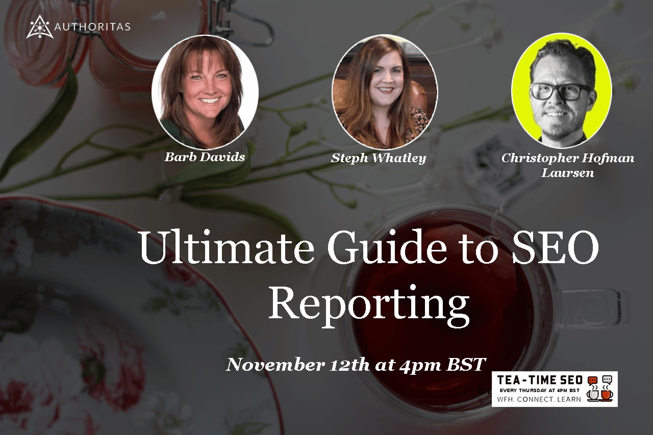 Images of speakers for Tea Time SEO
