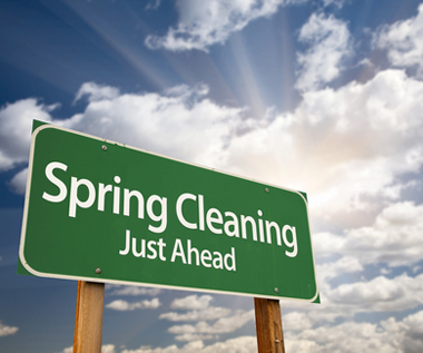 Spring Cleaning Sign Full