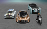 BMW displays four futuristic concepts together for the first time at 100th celebration