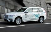 <p>Volvo XC90 Drive Me test vehicle</p>