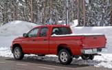 <p>Pickup Truck in Winter</p>