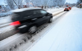 <p>Driving in slush</p>