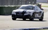 <p>Audi RS7 Autonomous Concept at Hockenheimring</p>
