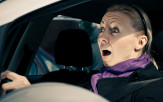 <p>Driver frightened</p>