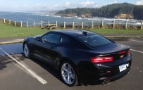 <p>2016 Chevrolet Camaro 1LT overlooking the Pacific coast</p>