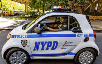 <p>NYPD Smart Fortwo driven by Officer Ralph Jefferson</p>