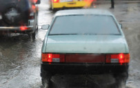 <p>Car windows fogged</p>