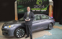 <p>Honda Accord Hybrid - Green Car Journal's 2014 Green Car of the Year</p>