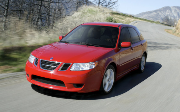 <p><strong>2005-06 Saab 9-2X</strong></p> <p>Keep an eye out for this rare made-in-Japan Saab, or Saabaru, as fans have dubbed it. Saab and Subaru were fitting partners: both automakers began as aircraft manufacturers, they're adherents of unconventional thinking and they each became General Motors assets briefly. As a thinly disguised Impreza, the Saab 9-2X – available only as a five-door hatchback – came in two flavours: the 2.5 Linear had Subie's naturally aspirated 2.5-litre flat-four engine making 165 hp, while the Aero featured a turbocharged and intercooled 227-hp 2.0-litre from the frenetic WRX. </p>
