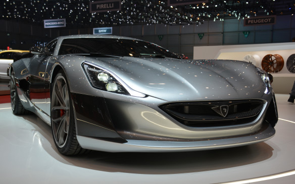 <p>From Britain to Croatia, we get to see the Concept One from the little Croatian company known as Rimac. It's an all-electric supercar that produces 1,088 horsepower and is said to do the 0-to-100 km/h sprint in just 2.6 seconds. The company will only build and sell eight production versions, but at least it will eventually get out on the streets. There's also a Concept One S that's new for the Rimac group and gets an extra 286 horsepower plus more downforce from a massive rear wing. No range has ever been provided for either model, but there have been hints from a spokesperson for the group that it will match the 322 km of the Tesla Model S.</p>