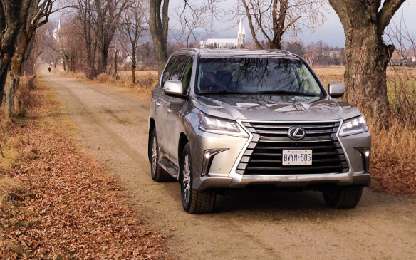 <p>Unveiled in August at the Pebble Beach Concours d'Elegance, the 2016 LX 570 has been given a major makeover. Unlike most mid-cycle updates, Lexus has made significant changes to the appearance of this eight-passenger SUV. For starters, all its exterior sheet-metal is new, except for the door panels.</p>