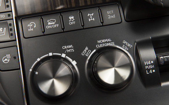 <p>The transmission is also linked to a new Drive Mode Select system that enables the driver to adjust the powertrain to his/her specific preferences. This system can also alter the shock absorbers' damping rates and power steering assist, creating the ride and feel the driver prefers, simply by selecting the appropriate mode using a knob mounted on the centre console.</p>