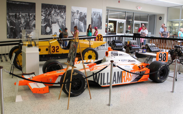 <p>The 2011 Indy 500 winning car was this Dallara Honda, entered by Brian Herta Autosport and driven by Dan Wheldon. His average speed for the race was 170 mph (240 km/h) and the winner's purse was more than $2.5-million.</p>