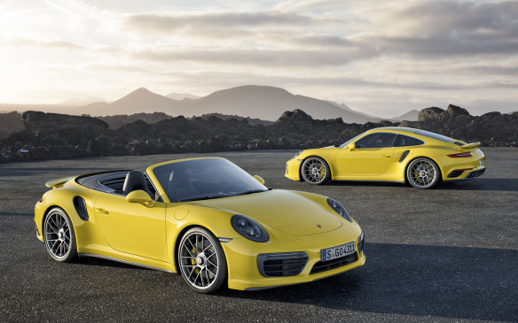 <p>The Turbo now makes 540 horsepower, and the Turbo S makes 580. That's good for 3.0 seconds and 2.9 seconds respectively from standstill to 100 km/h, but you'll need to activate launch control to achieve a time like that. These times are both 0.2 seconds quicker than the previous generation.</p>