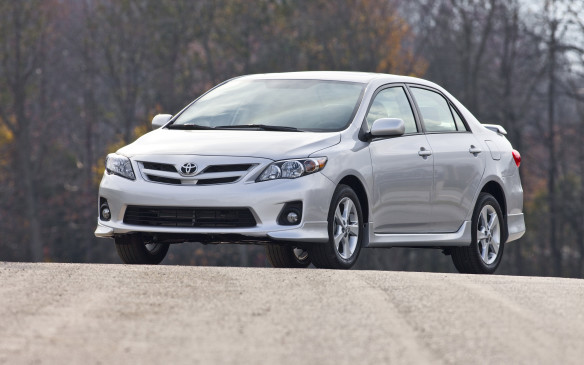 <p><strong>2012 Toyota Corolla</strong></p> <p>Average price: $12,995</p> <p>Toyota has a stellar reputation for long-lasting quality built into its small cars. The last-generation Corolla might not turn any heads or quicken a pulse, but they do last almost forever. Base CE models use a proven 1.8-litre four-cylinder engine with 132 horsepower, mated to either a five-speed manual or – more likely – a four-speed automatic transition. prefer a hatchback? The Matrix is identical mechanically.</p>
