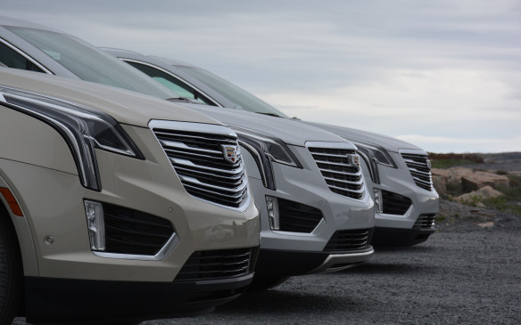 <p>The base trim model comes only with front-wheel drive, while the second-tier Luxury trim comes standard in that form but with all-wheel drive available for $2,870 more. All higher-level trims (Premium Luxury and Platinum) are available only with all-wheel-drive. Cadillac expects 85% of its 2017 XT5 sales in Canada to be all-wheel drive, and that figure end up being closer to 90%.</p>