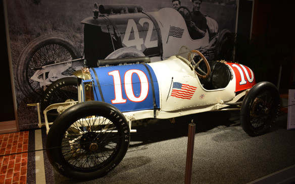 "<p>The history of the Indianapolis 500 plays a big role at the 2016 CIAS, with a room next to the exotics that celebrates this year's 100<sup>th</sup> running of the ""Greatest Specacle in Racing."" One of the coolest vehicles in the room is this 1914 Duesenberg, created by German-born engineering brothers Fred and Augie Duesenberg. This four-cylinder, 360 cubic-inch (5.9-litre) race car competed in the prestigious race in 1914, as part of a team that eventually finished in 10th and 12th place – not a bad start for the brand that would become ""America's Mightiest Motorcar.""</p>"