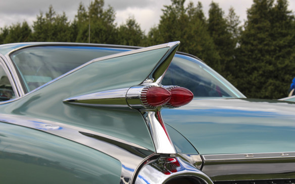 <p>Nothing exemplifies the '50s better than the 1959 Cadillac, which boasted the highest fins of any car.</p>
