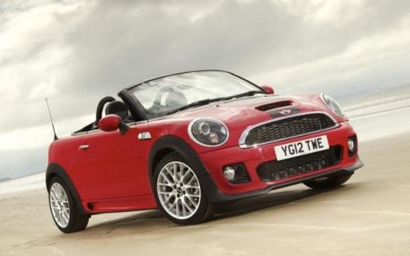 2012 MINI Roadster - Front - Red
