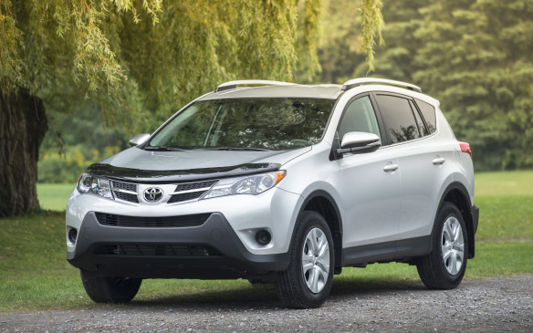 <p>The Canadian-built Toyota RAV4 gained a position, surpassing the Honda CR-V for seventh place on the truck chart and making it the second-best-selling CUV/SUV behind the Ford Escape.</p>