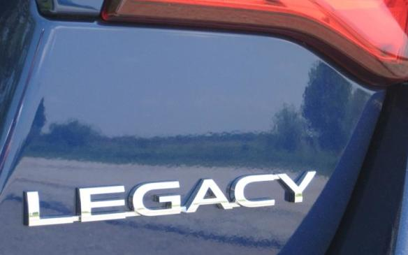 2015 Subaru Legacy - rear badging