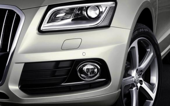 2014 Audi Q5 TDI - headlamp detail
