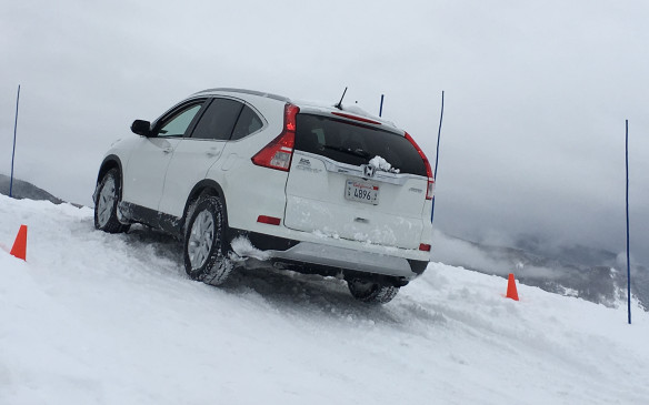 <p>The i-ACTIV system was noticeably superior to those of the competitive vehicles in the hill-climb exercise, which required them to climb a grade, then stop at the crest. Before advancing, the front wheels were turned hard right and then the vehicle was free to proceed down the grade. The CX-5 handled the challenge without a problem, engaging all four wheels to make the sharp turn. The competition, a Honda CR-V and a Subaru Forester, were less capable – both failing to activate the rear wheels on the restart. In fact, the Honda couldn't muster enough traction to complete the maneuver, while the Subaru eventually found enough grip to get down the hill.</p>