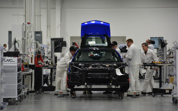 <p>Honda's new Performance Manufacturing Center (PMC) in Marysville, Ohio is solely dedicated to the production of the 2017 Acura NSX hybrid supercar. And I am one of first media visitors ever to enter the 184,000-square-foot building.</p>
