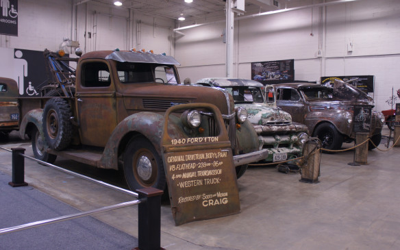 <p>Not every vehicle at the show was spit-and-polish, but these old trucks have still received plenty of love from their owners – and earned lots of admiring looks from show visitors.</p>
