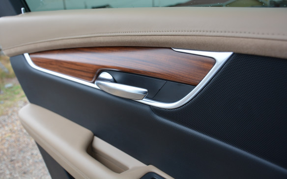 <p>Cadillac uses cut-and-sewn materials and real wood, aluminum and carbon fibre in the cockpit. Cadillac says it's all about quality for the brand's new products and that's the key ingredient that brings its interiors on par with the latest from the German big three.</p>