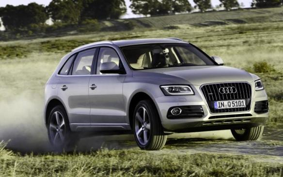 2014 Audi Q5 TDI - front 3/4 motion