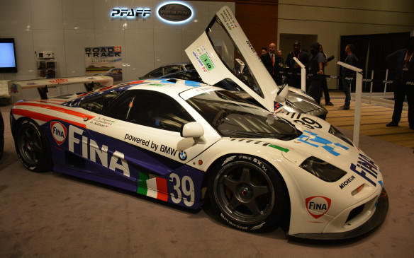 <p>The McLaren F1 GTR was a racing variant of the McLaren F1 sports car, and is arguably one of the most valuable vehicles at the CIAS. These vehicles competed with the likes of the Porsche 911 GT1 and Ferrari F50 GT until 2005 when the McLaren chassis was finally retired.</p>
