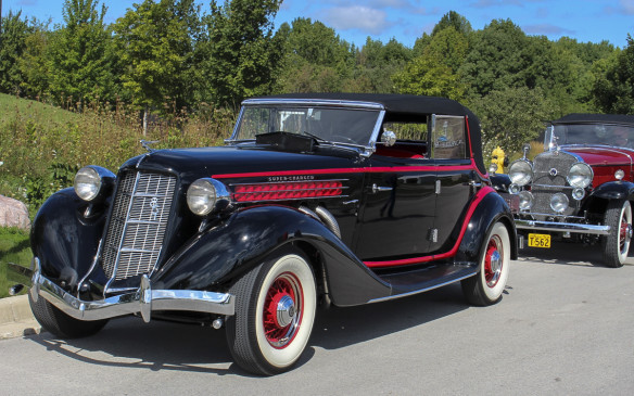 <p>This other 1935 Auburn 851 S/C wears a Phaeton body-syle. It's an original supercharged model that was built at the company's secondary plant in Auburn, Indiana.</p>