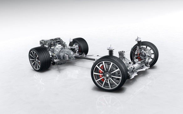 <p>This year's all-wheel-drive system is said to be improved by using a new organic material on the clutch plates, for better grip and quicker activation of the individual drive wheels. We'll take Porsche's word for that, but it worked very well.</p>