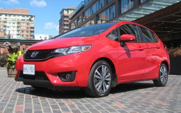 <p>Best New Small Car <$21K - 2015 Honda Fit</p> <p>The Honda Fit claimed the Small Car <$21K win from the Nissan Micra.</p>