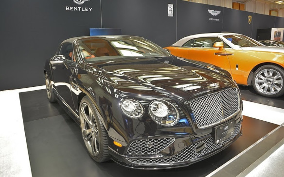 <p>The iconic look of the Bentley Continental hasn't changed much since its inception in 2003. The new Continental GT Speed convertible pictured here, however, gets a healthy dose of more power, featuring a twin-turbo W-12 engine capable of 626 horsepower and 605 lb-ft of torque. A temple to luxury and opulence, the Continental GT Speed does weigh in at a staggering 2,900 kg (6,393 lbs), but still manages the 0-to-60 mph (100 km/h) run in 4.1 seconds.</p>