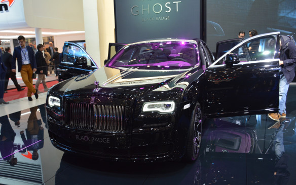 <p>As for the actual Rolls-Royce company, the British luxury brand attempted to be more youthful and cool with its new Black Badge offerings. These limited edition packages will be on both the Ghost and Wraith. The Black Badge vehicles are filled with colour, enhanced premium finishings and additions and an bold overall look, but they also come with a boost in power. Both have 6.6-litre V-12 engines, but the Ghost gets 603 horsepower and the Wraith gets 623.</p>