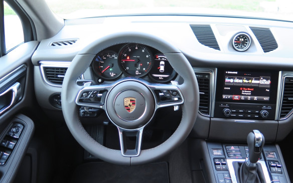 <p>The 2017 Macan, along with its S, GTS and Turbo siblings gets PCM 4.0 with a faster operating system, seven-inch tablet-like screen, satellite and HD radio, lane departure warning, front and rear park assist and rear camera are now standard across the line.</p>